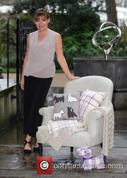Television presenter Lorraine Kelly launches her debut homeware...