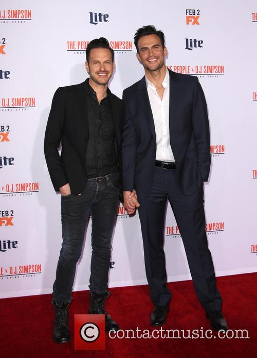 Cheyenne Jackson and Jason Landau 1