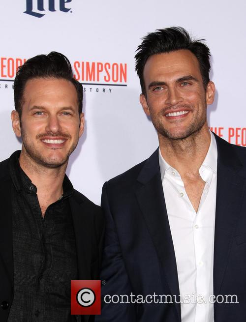 Cheyenne Jackson and Jason Landau 2