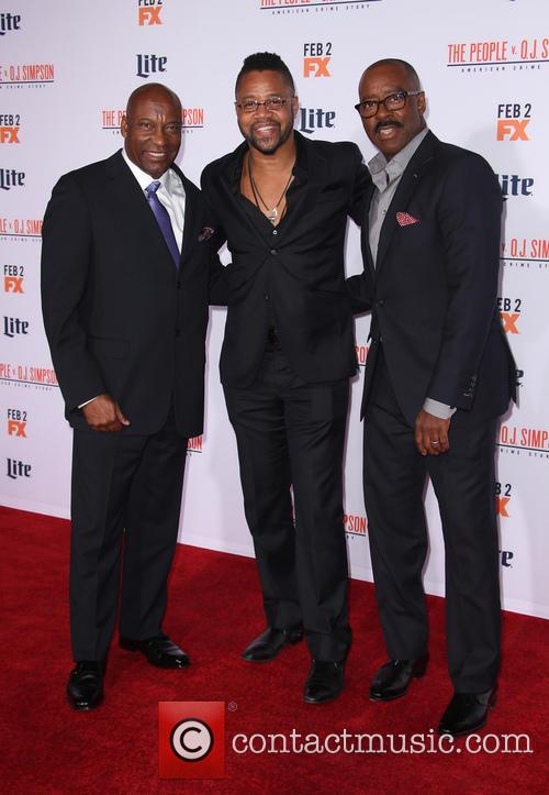 John Singleton, Cuba Gooding Jr. and Courtney B. Vance 1