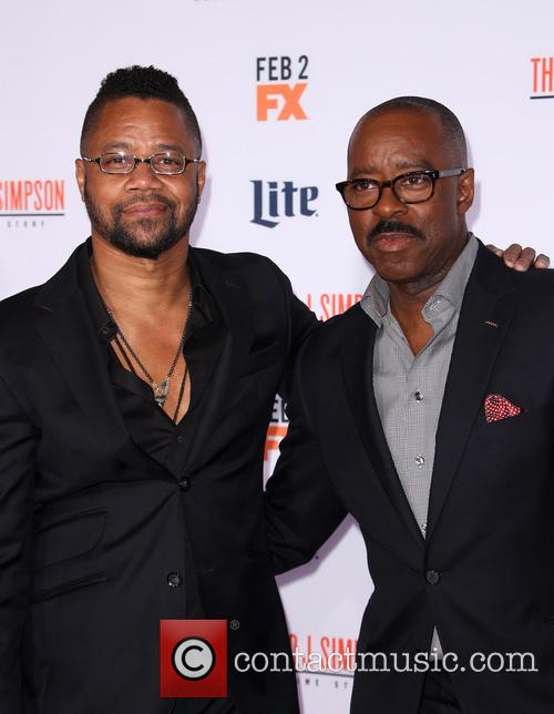 Cuba Gooding Jr. and Courtney B. Vance 3