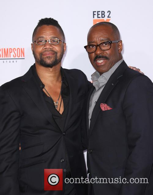Cuba Gooding Jr. and Courtney B. Vance 7