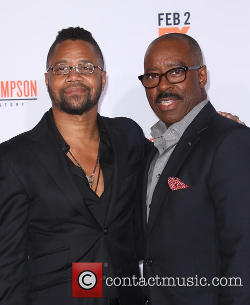 Cuba Gooding Jr. and Courtney B. Vance 8