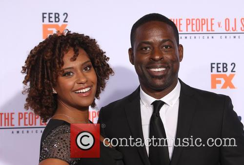 Ryan Michelle Bathe and Sterling K. Brown 1