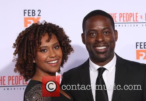 Ryan Michelle Bathe and Sterling K. Brown 2