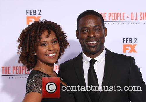 Ryan Michelle Bathe and Sterling K. Brown 3