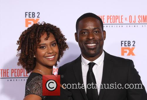 Ryan Michelle Bathe and Sterling K. Brown 4