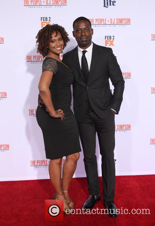 Ryan Michelle Bathe and Sterling K. Brown 5