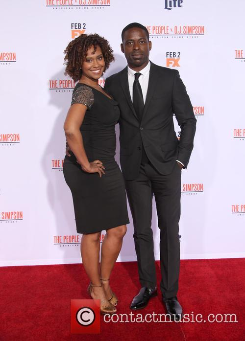Ryan Michelle Bathe and Sterling K. Brown 6