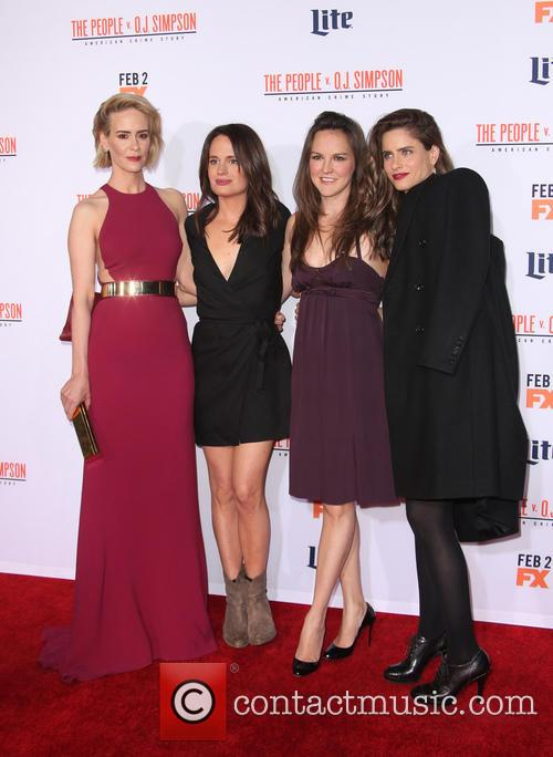 Sarah Paulson, Elizabeth Reaser, Carla Gallo and Amanda Peet 1
