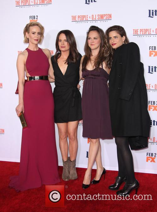 Sarah Paulson, Elizabeth Reaser, Carla Gallo and Amanda Peet 3