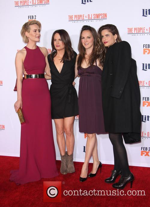 Sarah Paulson, Elizabeth Reaser, Carla Gallo and Amanda Peet 4