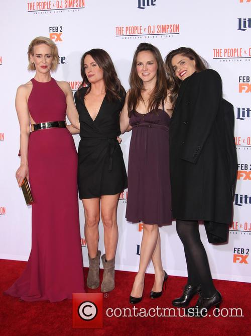 Sarah Paulson, Elizabeth Reaser, Carla Gallo and Amanda Peet 6