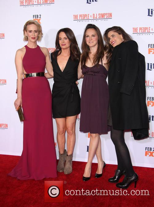 Sarah Paulson, Elizabeth Reaser, Carla Gallo and Amanda Peet 7