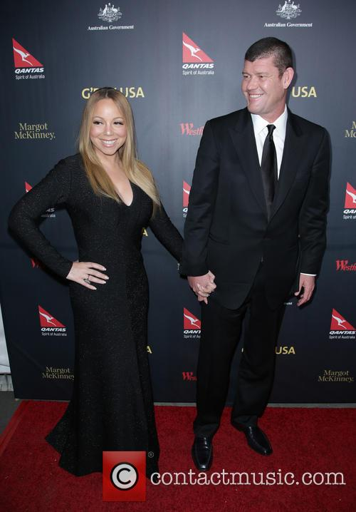 Mariah Carey and James Packer 2