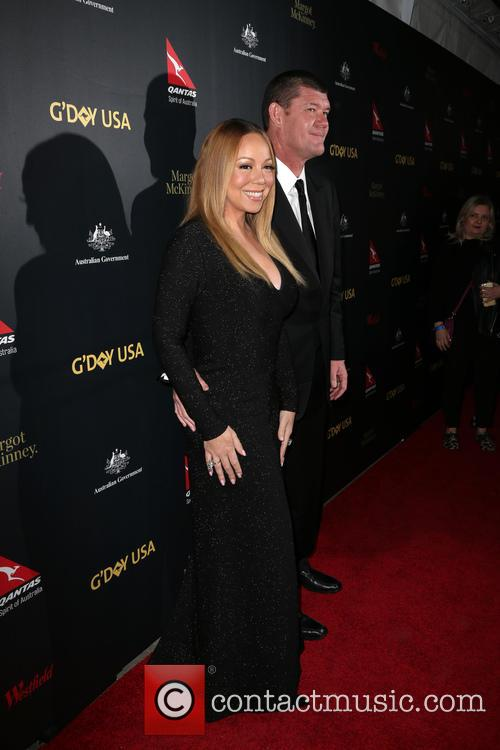 Mariah Carey and James Packer 8