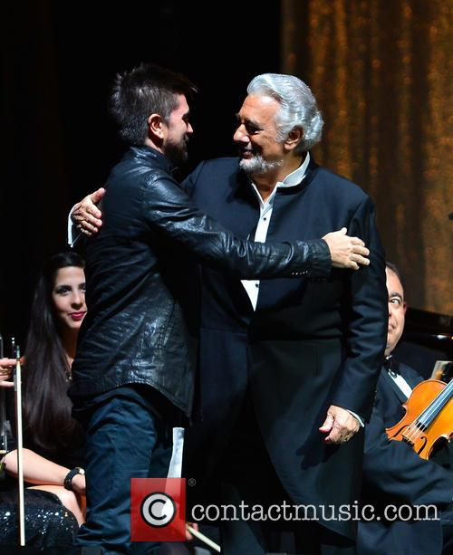 Juanes and Placido Domingo 4
