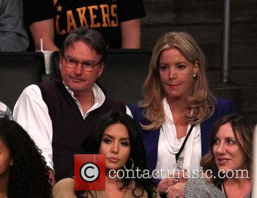 Jimmy Conners and Jeanie Buss 1
