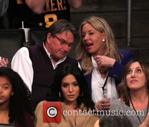 Jimmy Conners and Jeanie Buss 2