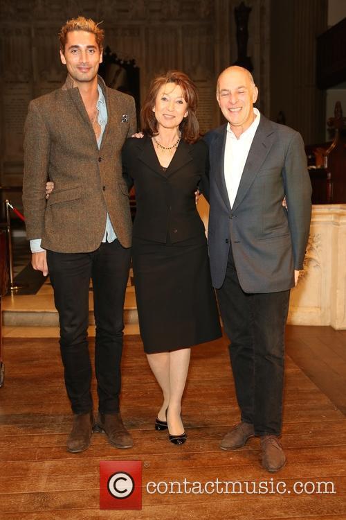 Hugo Taylor, Cherie Lunghi and Lloyd Grossman 1