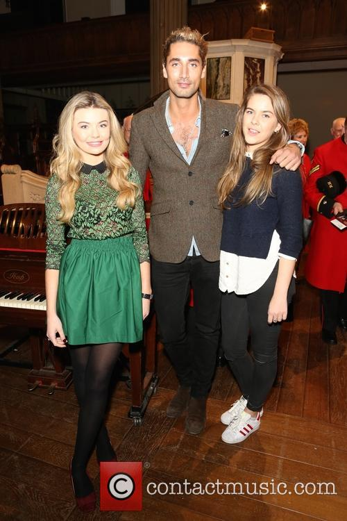 Georgia Toffolo, Hugo Taylor and Millie Wilkinson 1