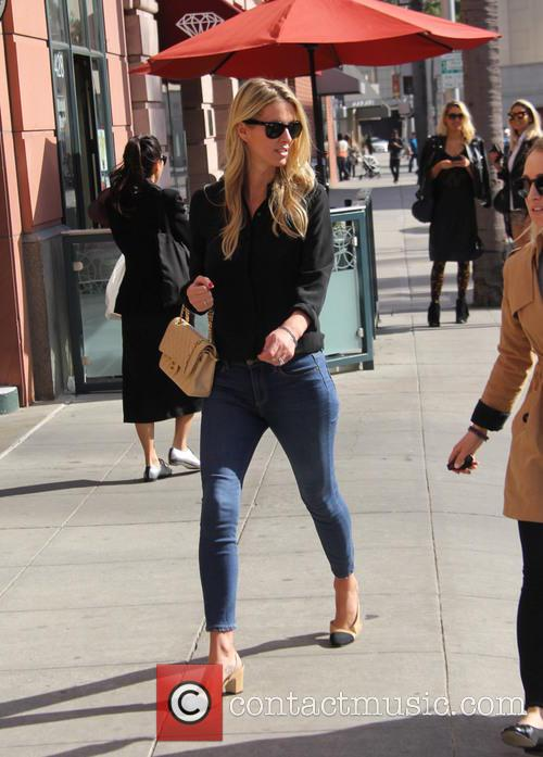 Nicky Hilton Rothschild goes shopping in Beverly Hills...