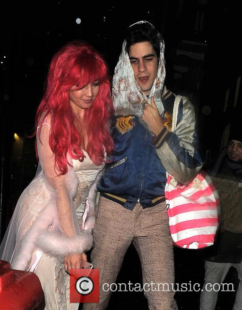 Daisy Lowe and Thomas Cohen 10