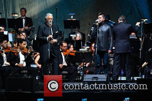 Placido Domingo and Juanes 2