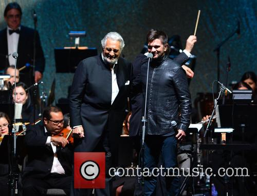 Placido Domingo and Juanes 4