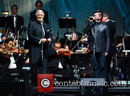 Placido Domingo and Juanes 8