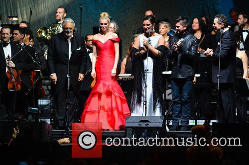Placido Domingo, Micaela Oeste, Virginia Tola, Juanes and Eugene Kohn 11