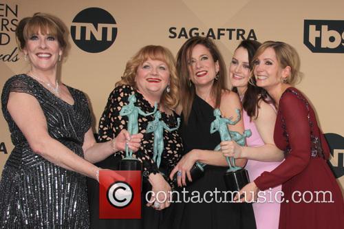 Phyllis Logan, Lesley Nicol, Raquel Cassidy, Sophie Mcshera and Joanne Froggatt 2