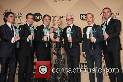 Billy Crudup, Brian D'arcy James, Mark Ruffalo, Rachel Mcadams John Slattery, Michael Keaton and Liev Schreiber