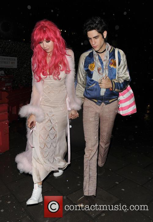 Daisy Lowe and Thomas Cohen 8
