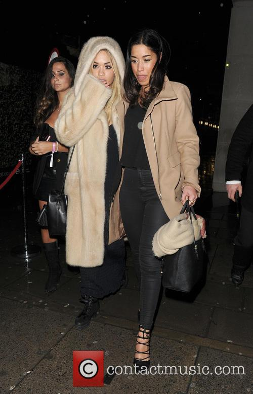 Celebrities leaving Daisy Lowe's birthday party, held at...