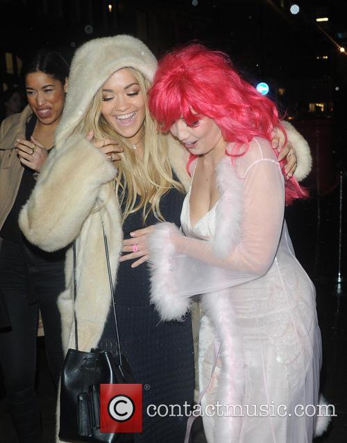 Rita Ora and Daisy Lowe 2