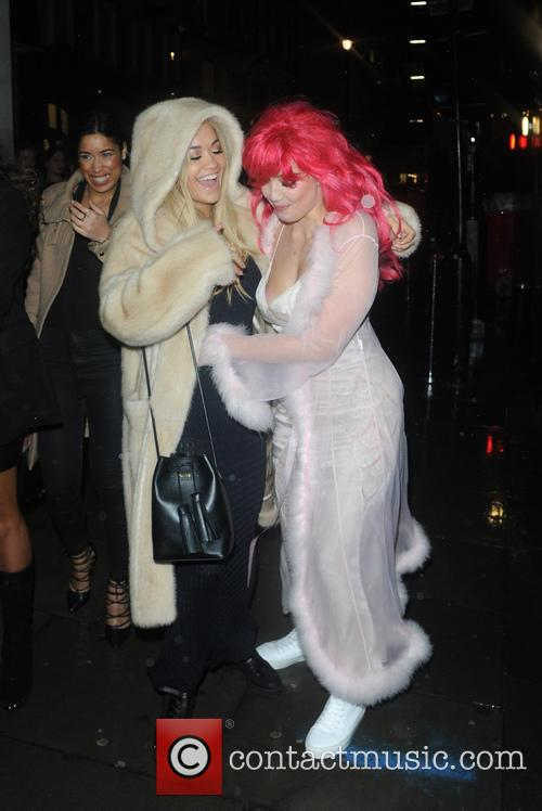 Daisy Lowe and Rita Ora 3