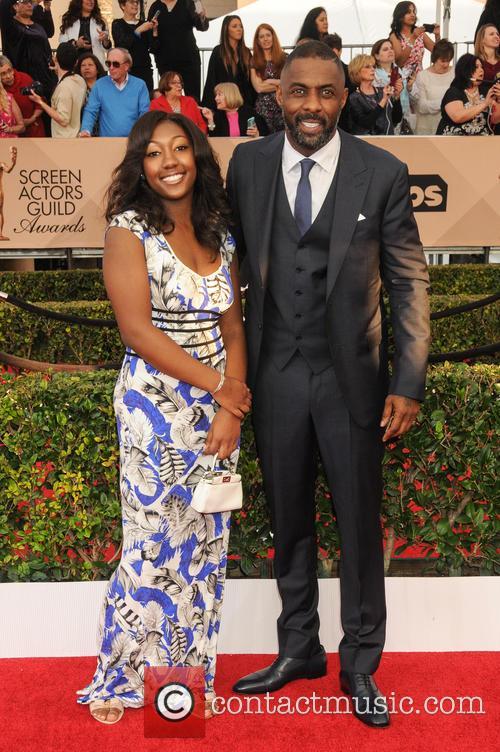 Idris Elba and Isan Elba 2