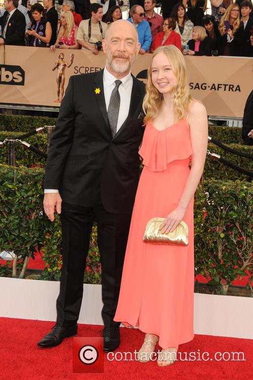 J. K. Simmons and Olivia Simmons 1