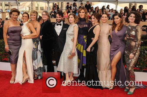 Amy Landecker, Melora Hardin, Cherry Jones, Jay Duplass, Carrie Brownstein, Our Lady J, Kathryn Hahn, Emily Robinson and Trace Lysett 5