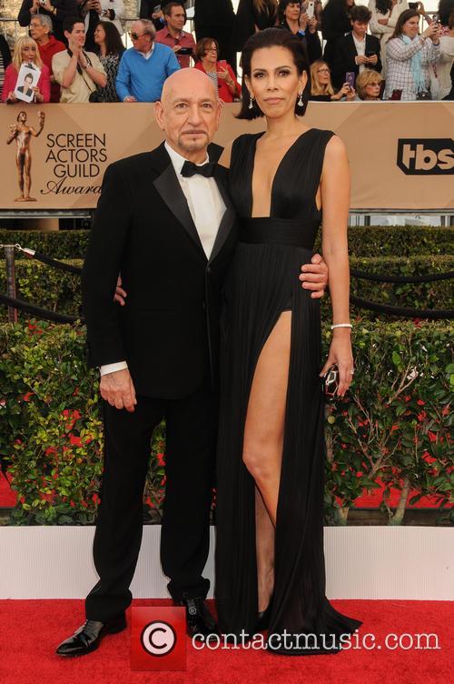 Ben Kingsley and Daniela Lavender 2