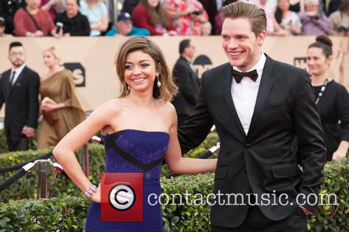 Sarah Hyland and Dominic Sherwood 2