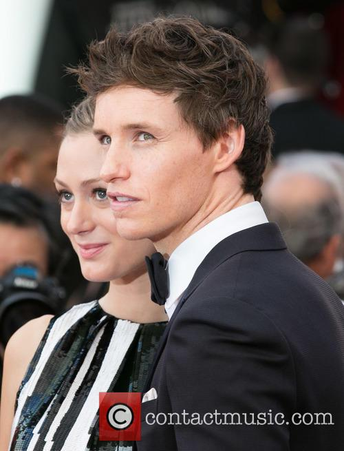 Hannah Bagshawe and Eddie Redmayne 1