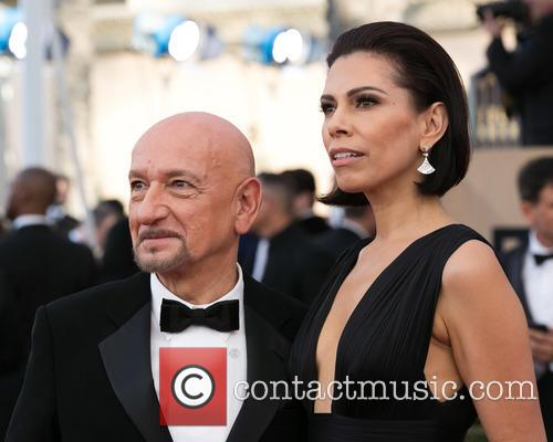 Ben Kingsley and Daniela Lavender 2