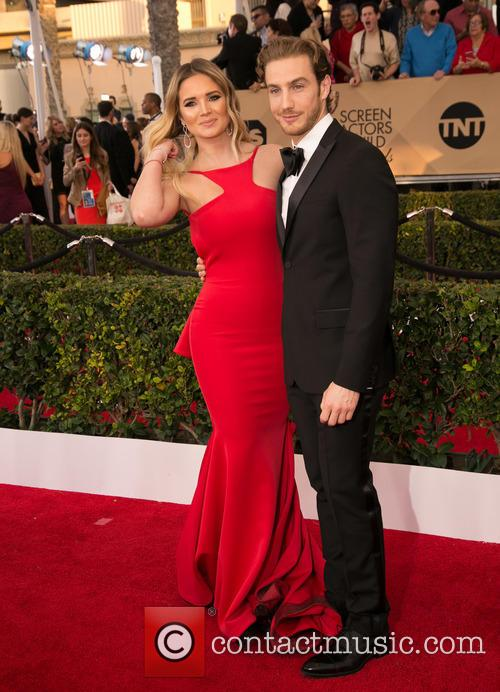 Kimberly Dos Ramos and Eugenio Siller