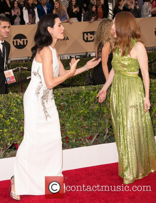Julianna Margulies and Julianne Moore 6
