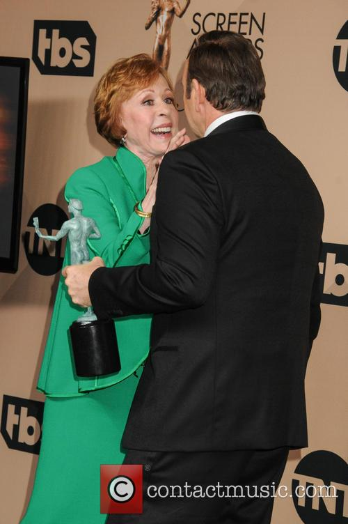 Carol Burnett and Kevin Spacey 9