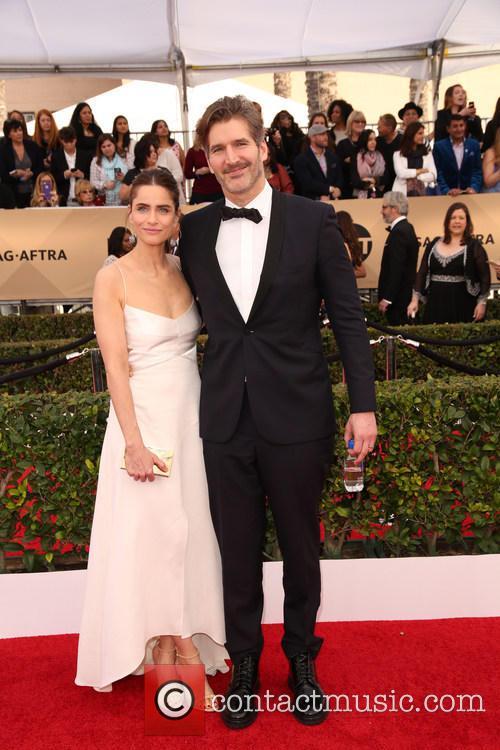 Amanda Peet and David Benioff 7