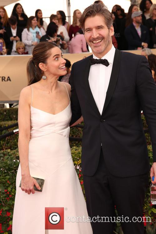 Amanda Peet and David Benioff 8