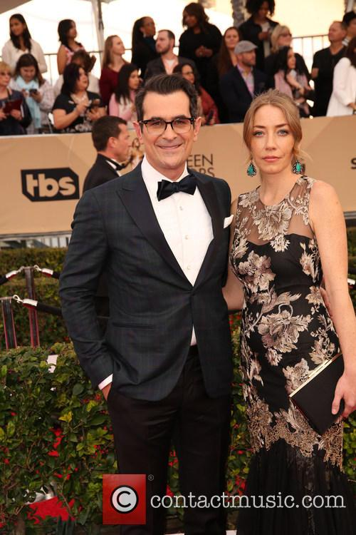 Ty Burrell and Holly Burrell 3